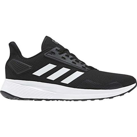 the latest 087ec 911c8 adidas Men s Duramo 9 Running Shoe Black White Black