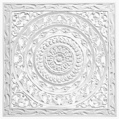 Solaris Thirty-one White Wall Art