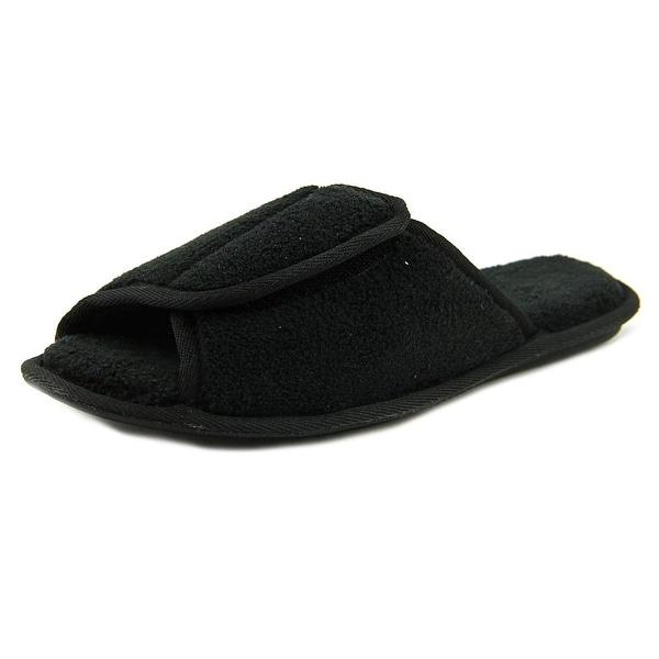 Soft-Fit Jessica WW Open-Toe Canvas Slipper
