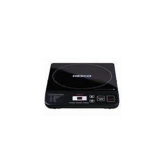 Nesco PIC-14 1400 Watt Portable Induction Cooktop