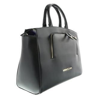 Versace EE1VOBBB1 E899 Black  Satchel/Shoulder Bag - 15-12-6