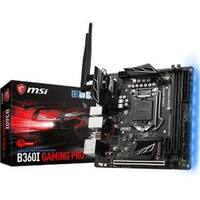 MSI B360IGPROAC B360I Gaming Pro AC ITX Gaming Motherboard