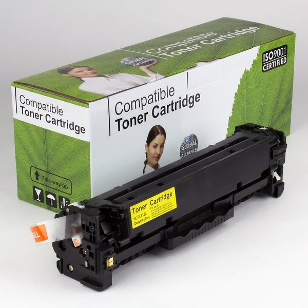 Value Brand replacement for HP 304A Yellow Toner CC532A (2,800 Yield)