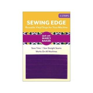 C&T Sewing Edge Vinyl Stops Purple 5pc