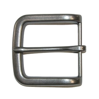 CTM® Metal Prong Pin Harness Belt Buckle - Silver - One Size