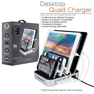 HyperGear 4-Port USB Charging Station Dock