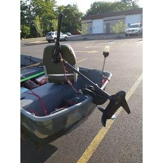86LBS Thrust Electric Trolling Motor for Fishing Boats Freshwater and Saltwater Use