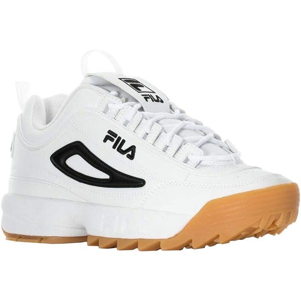 ab937a8bab Shop Fila Mens Disruptor ll Low Top Lace Up Fashion Sneakers - Free ...