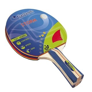 Imperial International 21-463 Garlando Storm Table Tennis Racket