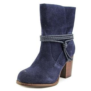 Splendid Larchmonte Women  Round Toe Suede  Ankle Boot