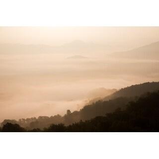 Cloud Landscape & Fog Photograph Art Print