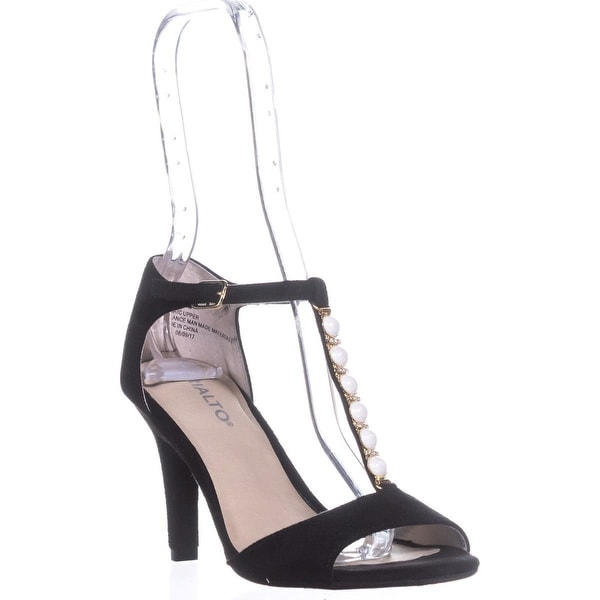 Rialto Rida Jewel Strap Pumps, Black