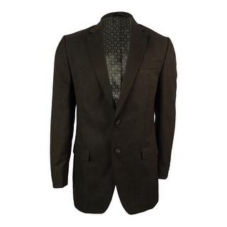 Lauren Ralph Lauren Men's Textured Sport Coat (40L, Brown)