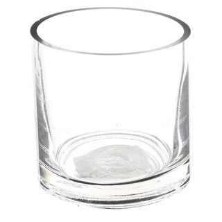 "Afloral Clear Cylinder Glass Vase 5"" x 5"" - 5 x 5"