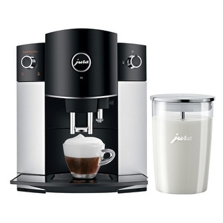 Link to Jura D6 Platinum Super-Automatic Espresso Machine with Milk Container Similar Items in Kitchen Appliances