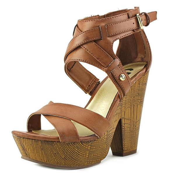 G By Guess Sissta Women Open Toe Synthetic Sandals