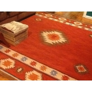 The Curated Nomad Ocotillo Hand-tufted Southwestern Wool Area Rug