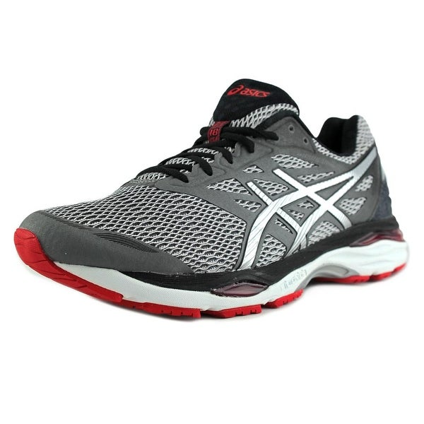 Asics Gel-Cumulus 18 Men Round Toe Synthetic Gray Running Shoe