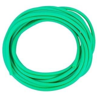 CanDo No-Latex Medium Resistance Tube, Green, 25 Feet