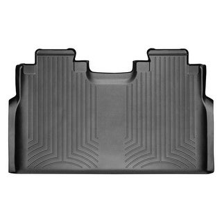 WeatherTech 446972 Black Rear FloorLiner: Ford F-150 2015 +, SuperCrew
