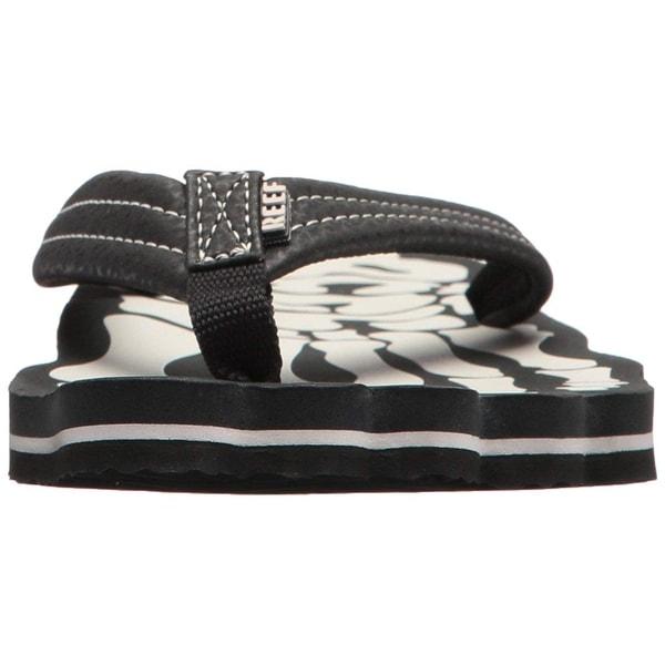 65a0213aa4e6 Shop Reef Girls Grom Skeleton Slip On Ankle Strap Slide Sandals ...