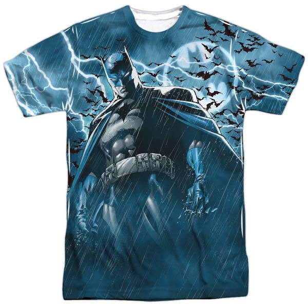Batman Stormy Knight Mens Sublimation Shirt