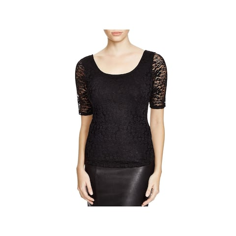 Guess Womens Ballet Top Lace Cross Back