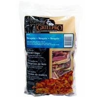 Grill Pro 00200 Mesquite Barbecue Wood Chips, 2 Lbs