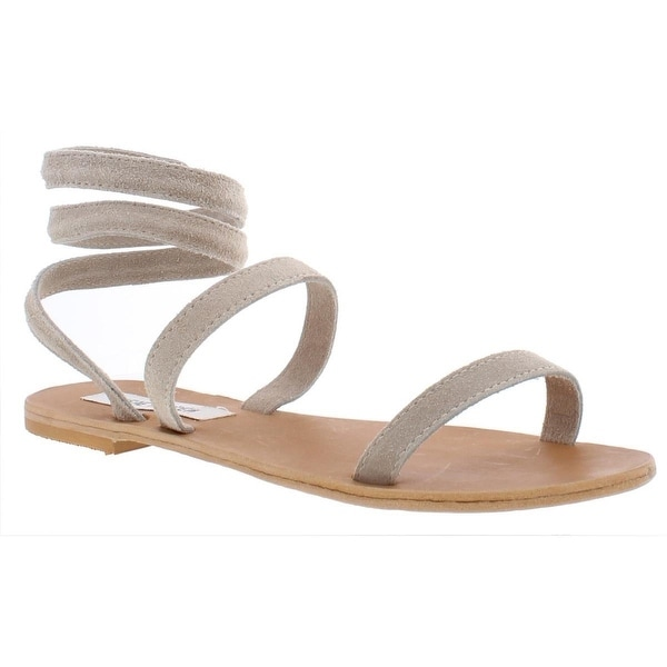 d4a5642bca39c Shop Steve Madden Womens Gabrielle Leather Open Toe Casual Strappy ...
