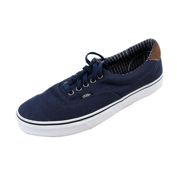 Shop Vans Men s Era 59 Navy White VN0003S4JSC Size 9 - Free Shipping ... 88a6453dd8ca