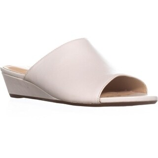Clarks Parram Waltz Platform Wedge Sandals, White Leather - 7.5 us / 38 eu