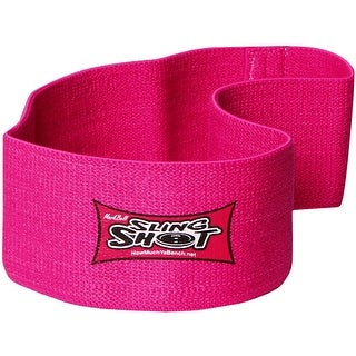 Sling Shot Hip Circle Level 2 Elastic Hip & Glute Strength Training Support-Pink