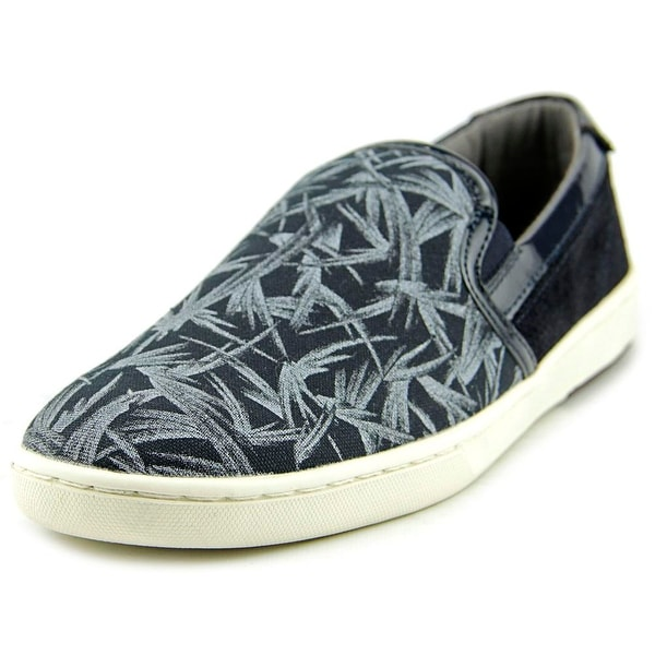 Ted Baker Chaise Men Round Toe Leather Blue Loafer