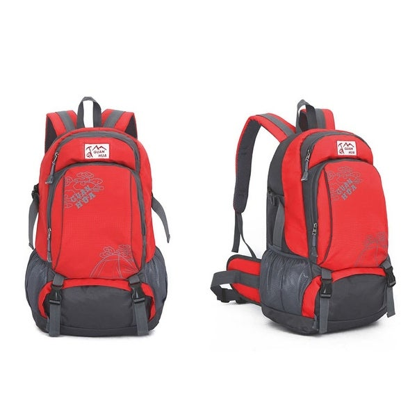 229eb06b0eec Sports Bag Men Women Outdoors Water-resistant Camping Backpack Hiking  Travel Mountaineering- Red