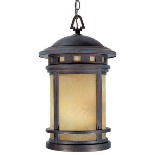 """Designers Fountain 2394-AM-MP 3 Light 11"""" Cast Aluminum Hanging Lantern from the Sedona Collection"""