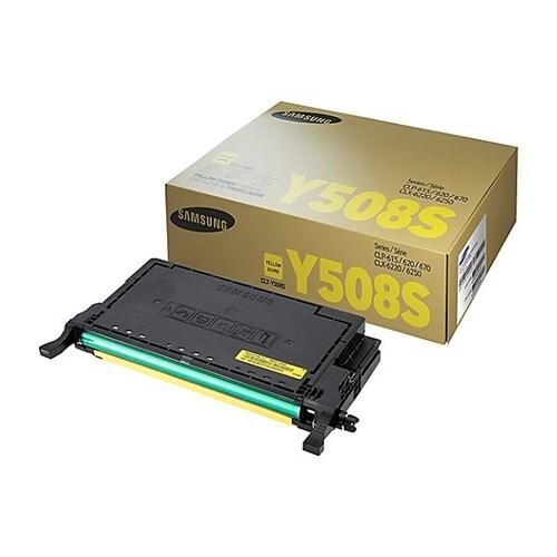 """Samsung CLT-Y508S Yellow Toner Cartridge Toner Cartridge"""