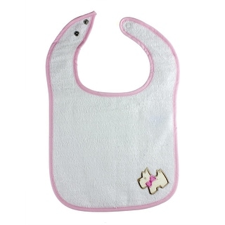 Out to Lunch Baby Bib with Unique Embroidered Designs