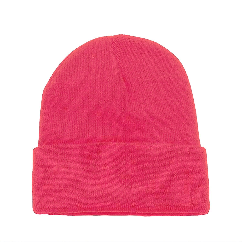 Unisex Winter Cuffed Plain Skull Knit Hat Cap YEGFTSN Fre-ddy Mer-cury Warm Beanie Hat for Men Women