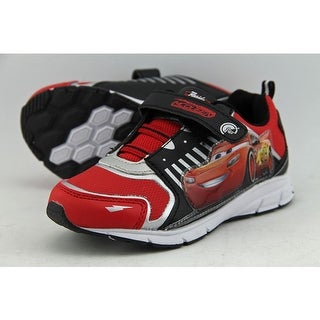 Disney Pixar Cars Youth Round Toe Synthetic Red Sneakers
