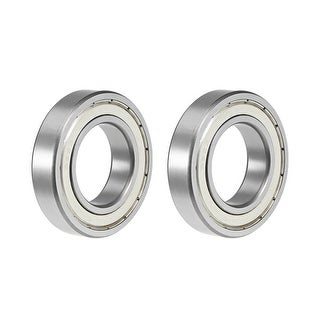 "R22ZZ Deep Groove Ball Bearing 1-3/8""x2-1/2""x9/16"" Shielded GCr15 Bearings 2pcs - R22ZZ (1-3/8""x2-1/2""x9/16"")"
