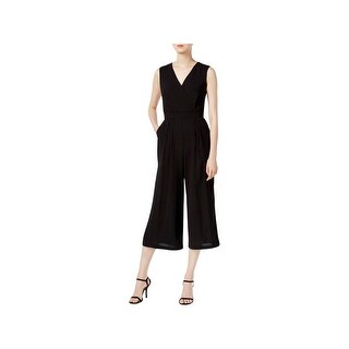 Nine West Womens Jumpsuit V-Neck Sleeveless