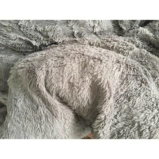 Madison Park Kaplan Plushed Long Fur Down Alternative Comforter Mini Set