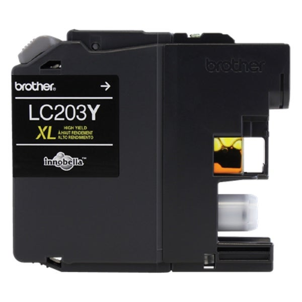 Brother LC203Y Brother Innobella LC203Y Ink Cartridge - Yellow - Inkjet - High Yield - 550 Page - 1 Each