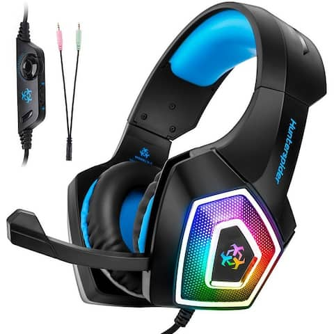 Gaming Headset for PS4 Xbox One, PC Gaming Headset with Mic