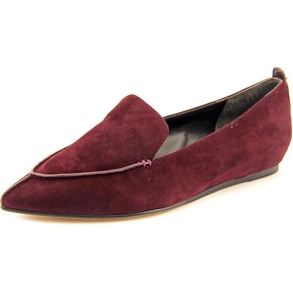 Charles David Bonita Women Pointed Toe Suede Loafer