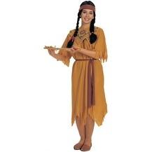 Pocahontas Indian Princess Adult Standard Costume - standard (10-14)