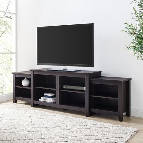 Porch & Den 80-Inch Tier Top TV Stand Console
