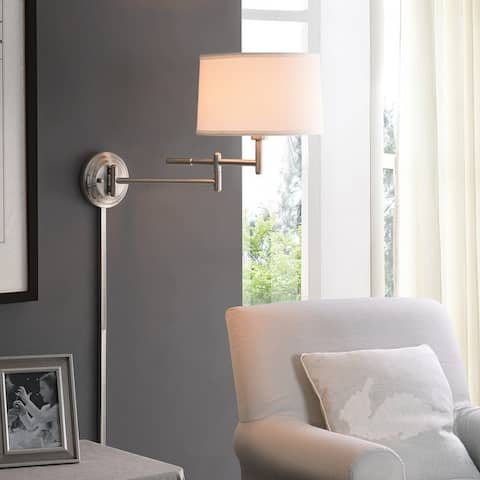 Copper Grove Marston 1-light Swing Arm Wall Lamp