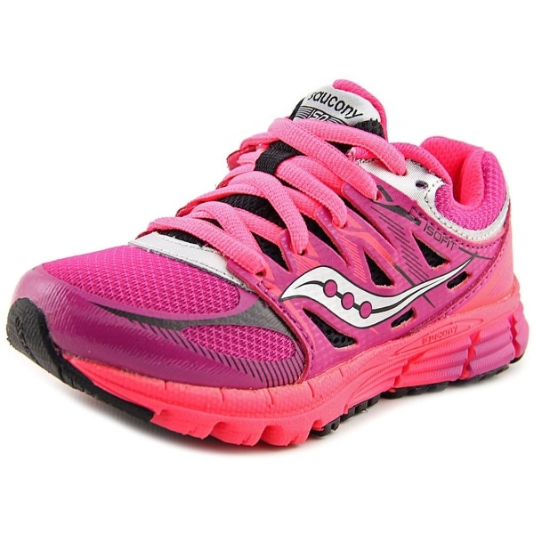Saucony Zealot Girl Magenta/Black/Crl Athletic Shoes