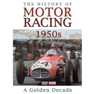 History of Motor Racing in 1950s [DVD]